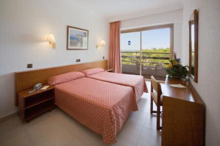 Zimmer im Hotel Ipanema Beach auf Mallorca