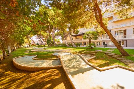 Minigolfanalge vom Hotel MLL Palma Bay Resort auf Mallorca
