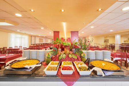 Buffet im Hotel MLL Palma Bay Resort auf Mallorca