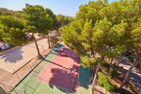 Tennisplatz vom Hotel MLL Palma Bay Resort auf Mallorca