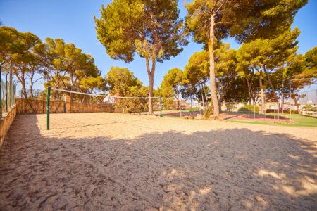 Volleyballfeld vom Hotel MLL Palma Bay Resort auf Mallorca
