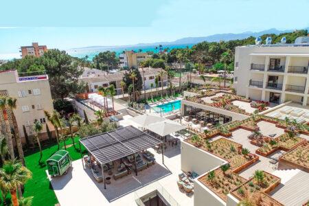 Außenansicht vom Hotel Paradiso Garden auf Mallorca