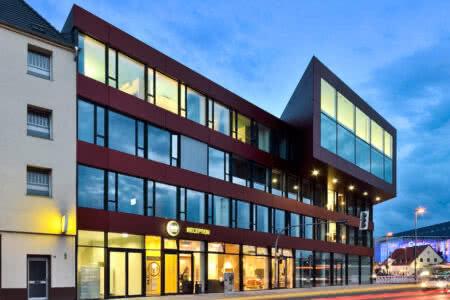 Außenansicht B&B Hotel Münster-Hafen