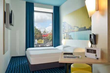 Zimmer im B&B Hotel Münster-Hafen in Münster