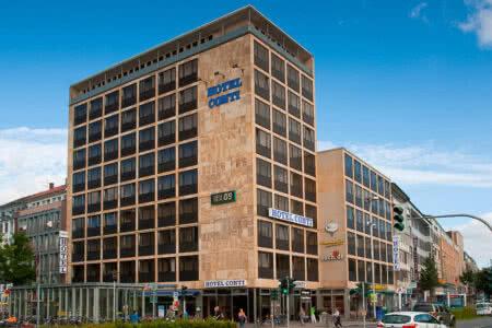 Außenansicht Hotel Conti in Münster