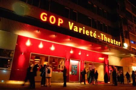 Außenansicht GOP Varieté-Theater in Münster