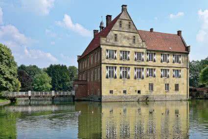 Außenansicht Burg Hülshoff bei Münster