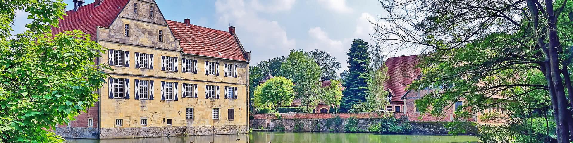 Burg Hülshoff bei Münster