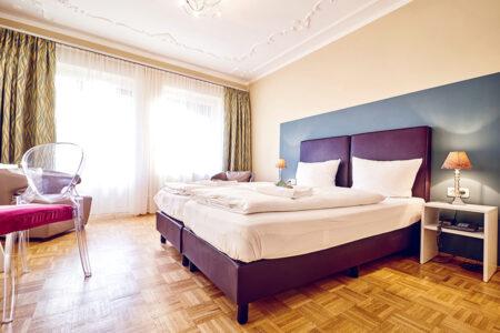Schlafzimmer im DJH Club-Resort Neuharlingersiel