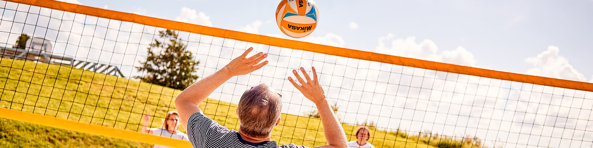 Beachvolleyball spielen in Neuharlingersiel