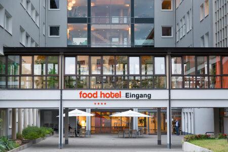 Eingang Food Hotel Neuwied