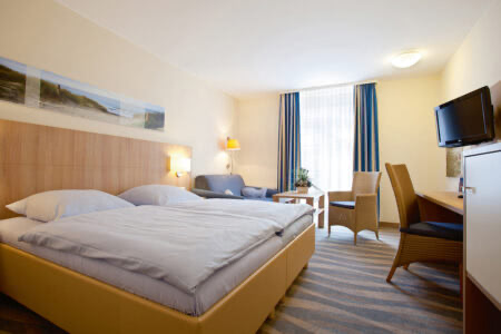 Zimmer im Inselhotel Bruns auf Norderney