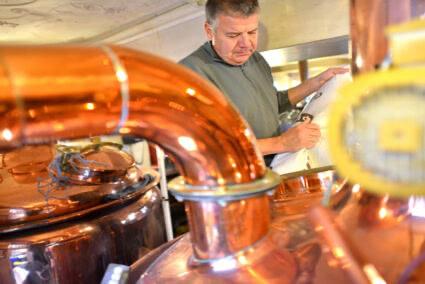 Bier brauen im Alt-Oberurseler Brauhaus in Oberursel