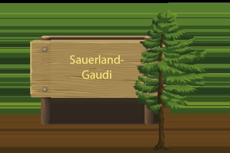 Sauerland-Gaudi-Button Olsberg