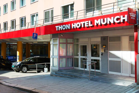 Eingang Thon Hotel Munch Oslo