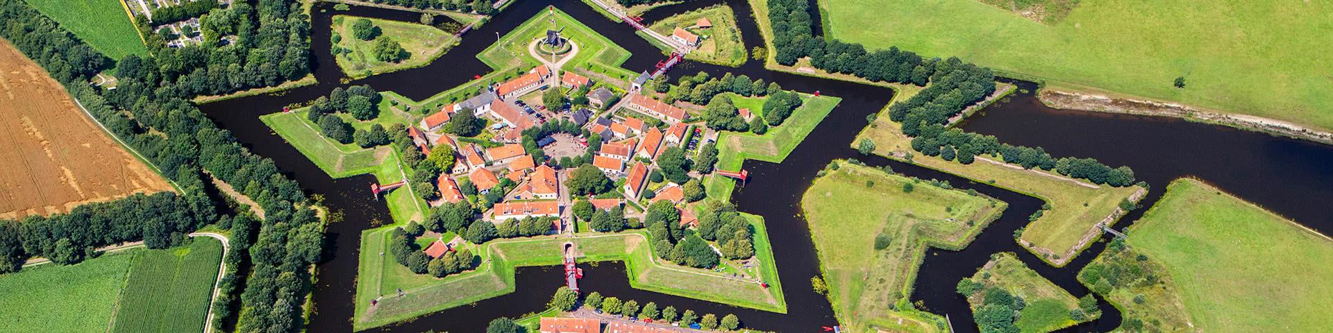 Luftansicht Festung Bourtange