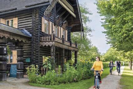 Fahrradtour durch russisches Viertel in Potsdam