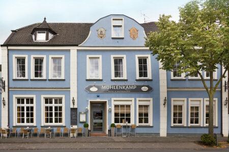 Außenansicht Hotel Mühlenkamp in Oelde