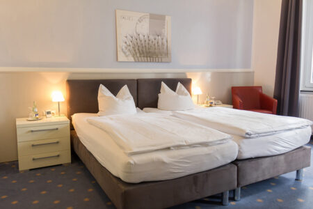 Zimmer im Hotel Mühlenkamp in Oelde
