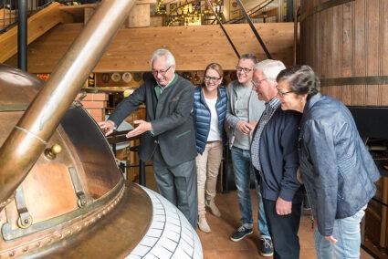 Brauereibesichtigung der Potts Brauerei in Oelde