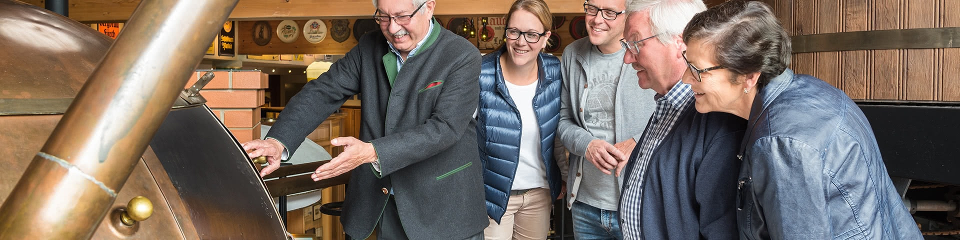 Brauereiführung in der Potts Brauerei in Oelde