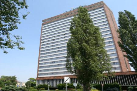 Außenansicht Olympik 1 Hotel in Prag