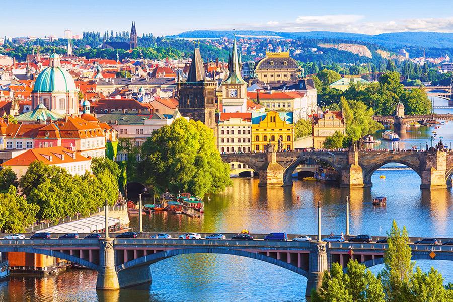 Brücken in der Altstadt von Prag