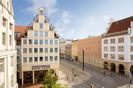 außenansicht Vienna House Sonne Rostock