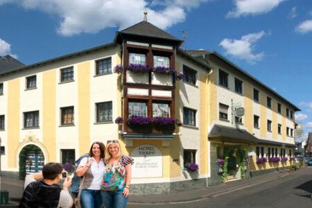 Außenansicht vom Hotel Trapp in Rüdesheim