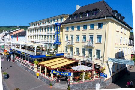 Außenansicht vom Parkhotel in Rüdesheim
