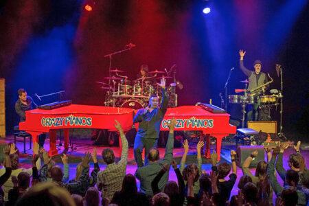 Crazy Pianos in Concert in Schevenigen