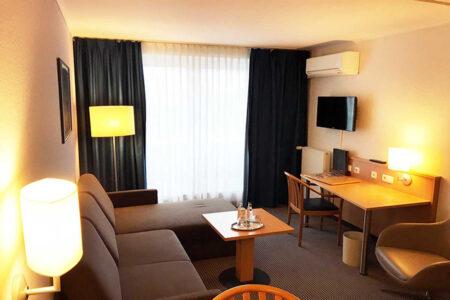 Zimmer im Hotel Stadthafen Stade