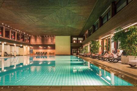 Schwimmbad im Maritim Club Hotel Timmendorfer Strand
