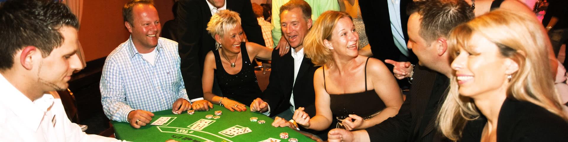Gute Laune beim Casinoabend in Timmendorf