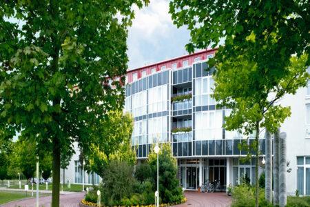Außenansicht vom Hotel Ramada by Wyndham Weimar