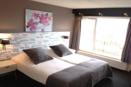Zimmer im Strandhotel Het Hoge Duin in Wijk aan Zee
