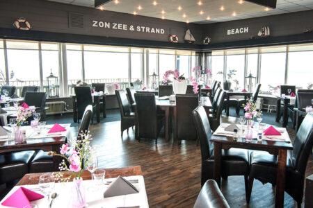 Restaurant im Strandhotel Het Hoge Duin in Wijk an Zee