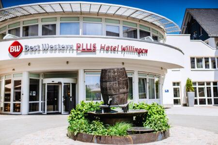 Eingangsbereich vom Best Western Plus Hotel Willingen