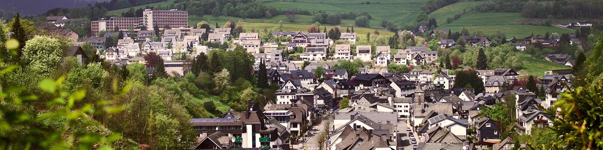 Luftbild Stadt Willingen