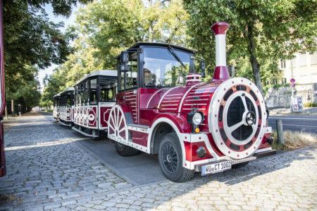 Touristen-Bähnle in Würzburg